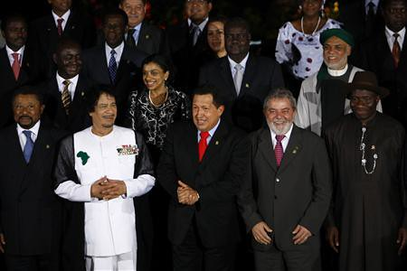 African and Latin American leaders present at the summit in Venezuela during September 2009 to build bridges between the two continents. Both Africa and Latin America share a common history, heritage as well as contemporary situation. by Pan-African News Wire File Photos