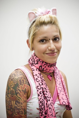 Angelica, Call Center Clerk – Tattoo Art Fest (168) – 18-20Sep09, Paris (France)