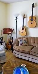 Living room wall-corner