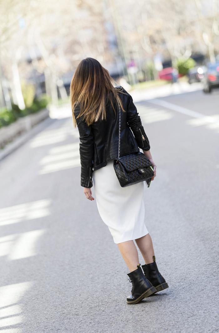 street style barbara crespo white long dress zara outfit fashion blogger blog de moda