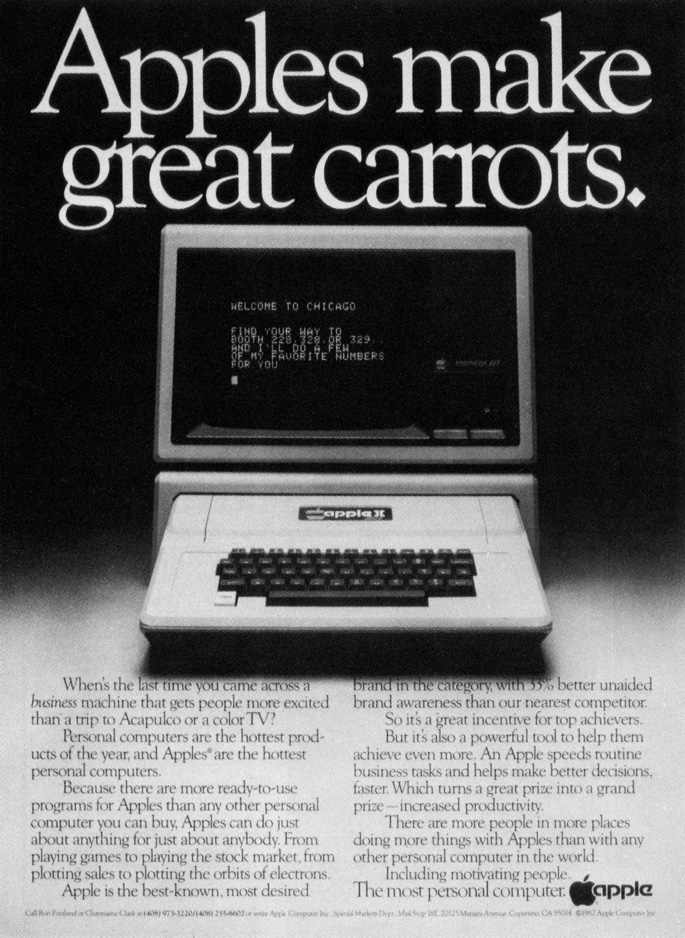 Apple II advertisement