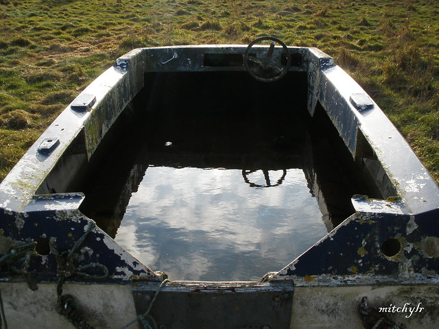 Boat With Built-In Lake