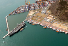 port, bird's-eye view, dock, artificial island, aerial photography, marina, waterway, infrastructure,