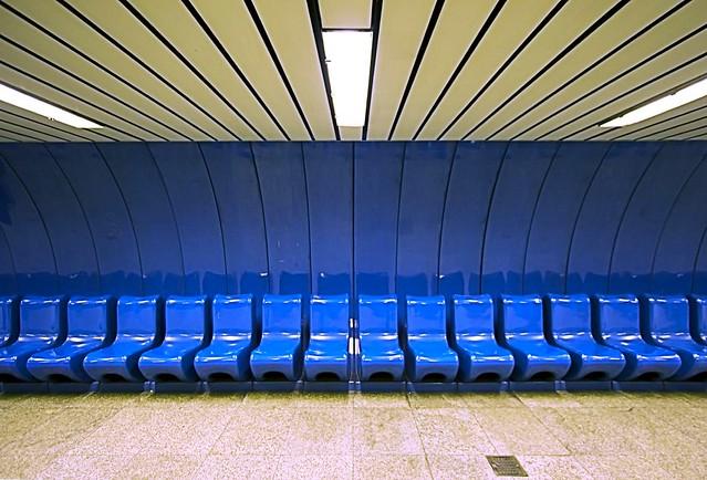 Kalvin Tere Metro Station, Budapest