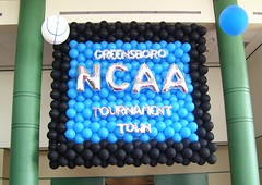 NCAA Tournament balloons