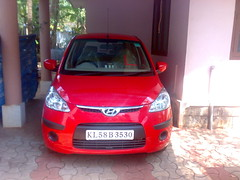 automobile, hyundai, vehicle, mid-size car, hyundai i10, land vehicle, hatchback,