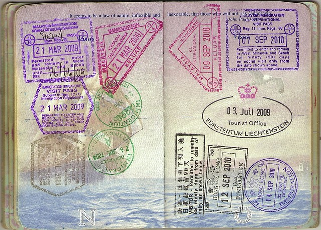 USA Passport: Malaysia, Singapore, Liechtenstein, Hong Kong
