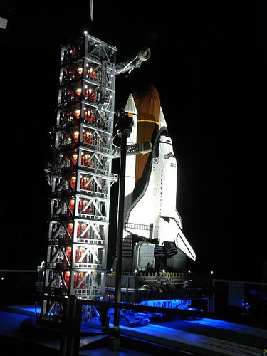 how to make a real space shuttle