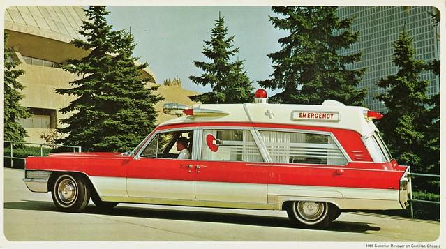 1965 Superior Cadillac Rescuer Ambulance Flickr Photo