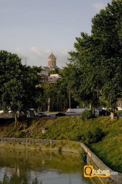 Tbilisi - jeden z gruzińskich kościołów