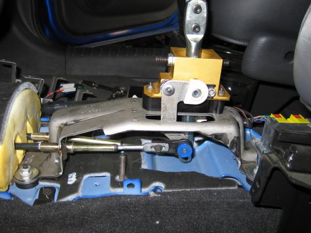 Chrysler Pt Cruiser Hurst Shifter Installed Flickr