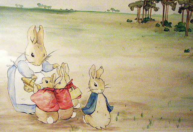Photo for Beatrix potter mural