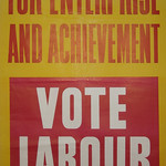 Election poster United Kingdom Labour
