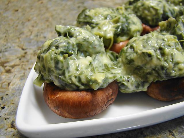 Kremed Spinach Stuffed Mushrooms | Flickr - Photo Sharing!