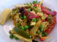 Ottolenghi's veggie paella