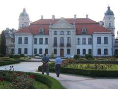 Kozlowka, the palace and formal gardens