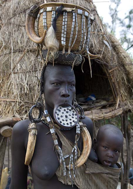 Mursi Mother