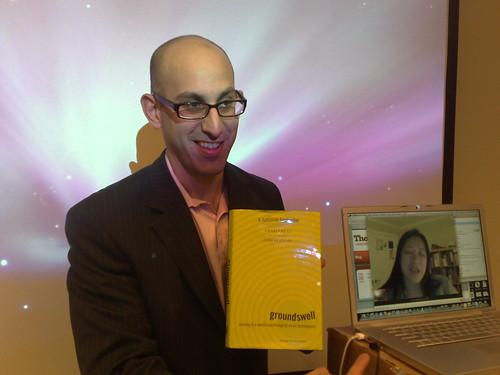Geoff Livingston and Virtual Charlene Li