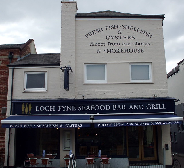 Loch Fyne Restaurant Jericho Oxford Menu