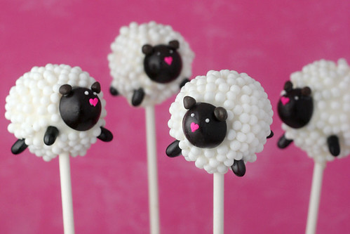 Sheep Cake Pops