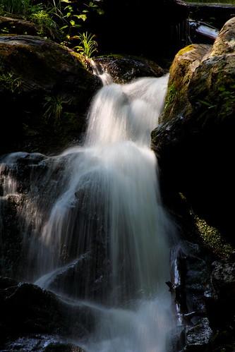 longexposure waterfall nc moss rocks northcarolina cascade blueribbonwinner oldfort mcdowellcounty catawbafalls davidhopkinsphotography