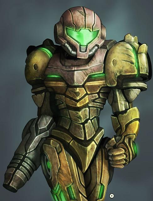 Samus Aran (Metroid). I got commissioned to draw an image of Samus, ...