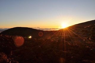 Sunset beside Mauna Kea 3