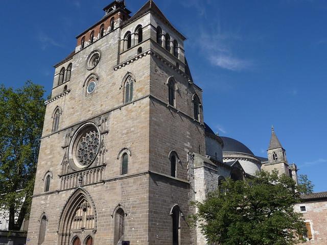 Cahors fa ade de la cath drale st etienne 46 a photo - Cathedrale saint etienne de cahors ...