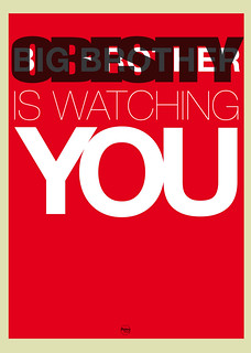 Obesity (big brother) is watching you