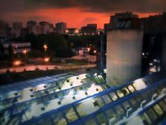 La ville, vue du Palais