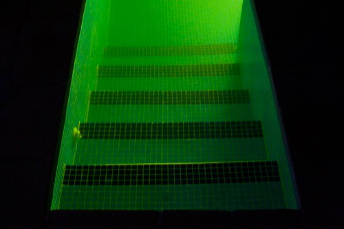 green water pool stairs steps greece descending amfikleia ελλάδα αμφίκλεια kiriakitraditionalinn