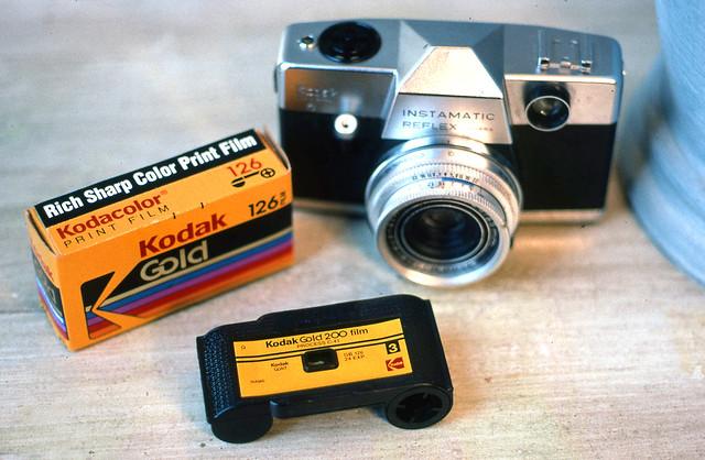 Kodak Gold 126 Film / Kodak Instamatic Reflex