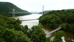 Bear Mountain Bridge over Hudson River