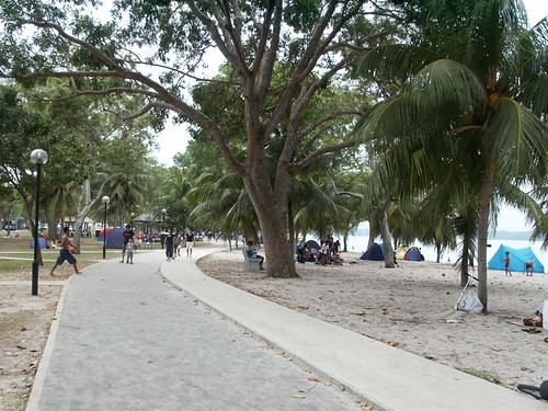 Camping @ the Beach