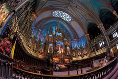 Choeur de la Basilique Notre-Dame de Montréal