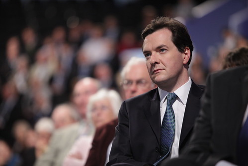 George Osborne at Conservative Party Conference