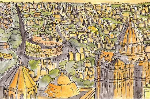 Rome Watercolor