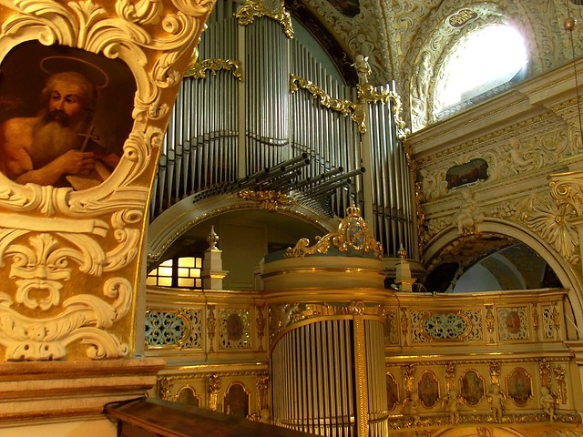 The organ at Jasna Gora  (Czestochowa, Poland)