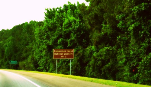 I 95 Northbound Exit 1 To Cumberland Island National Seashore Georgia