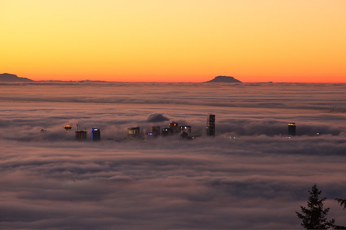 vancouver in the fog by buzz.bishop