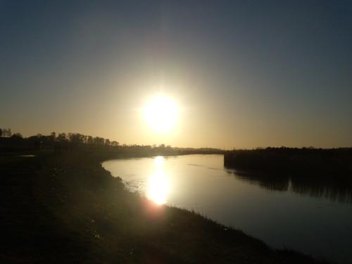 Sun over the Arun