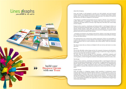 lines&graphs Brochure inner pages