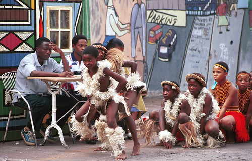 Windybrow Arts Centre Hillbrow South African Zulu Cultural Dancing 1999 009
