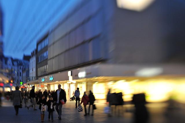 Bahnhofstraße Bielefeld, Germany