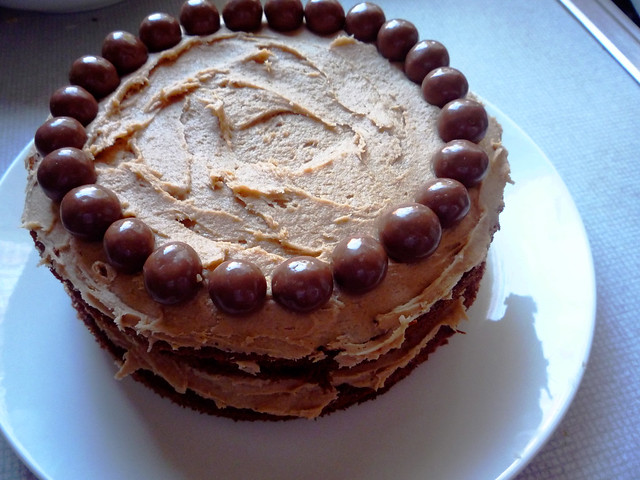 Nigella Malteser Chocolate Biscuit Cake