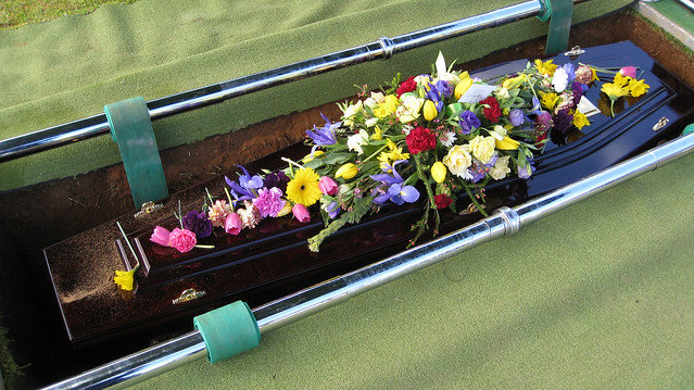 My Fathers Funeral from Flickr via Wylio