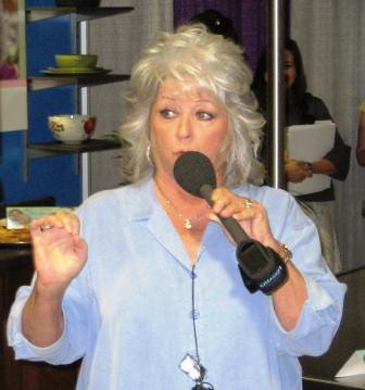 Paula Deen Speaking During the 2009 BlogHer Conference in Chicago