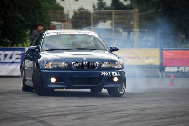 BMW E46 drift