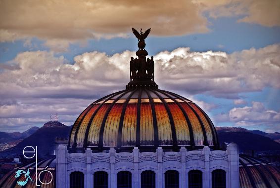 Cupula de el Palacio de Bellas Artes