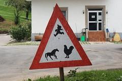 Rural Traffic Sign